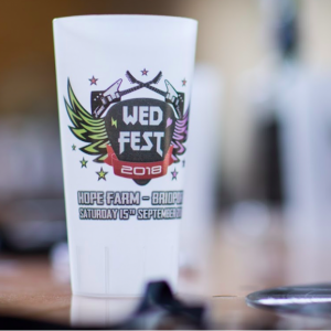 Wed Fest Re-usable Cup