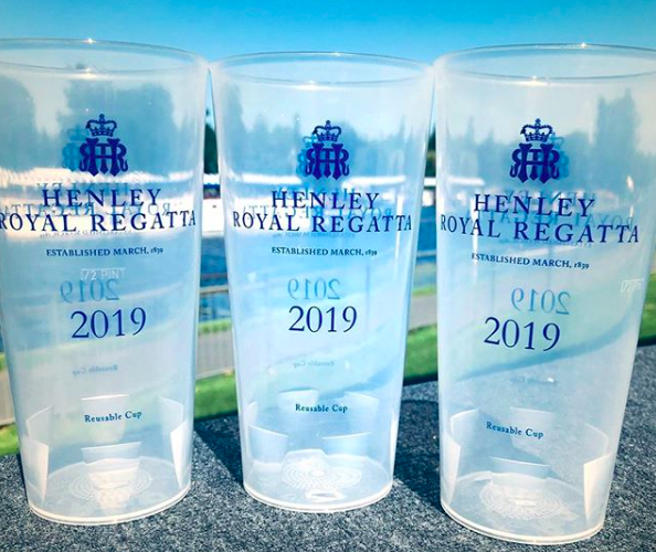 Henley Re-usable Printed Cups