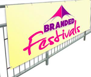Printed Festival Banner