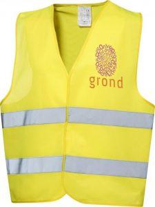 printed festival hi-visibility jacket