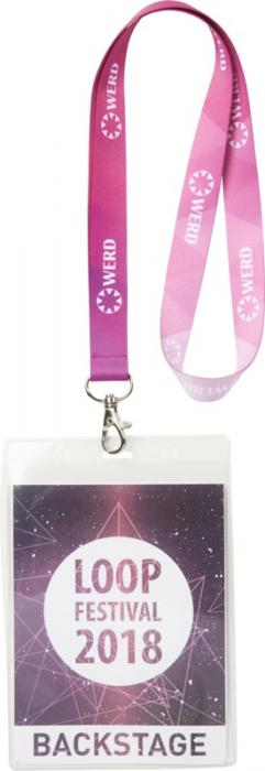 festival custom printed lanyards