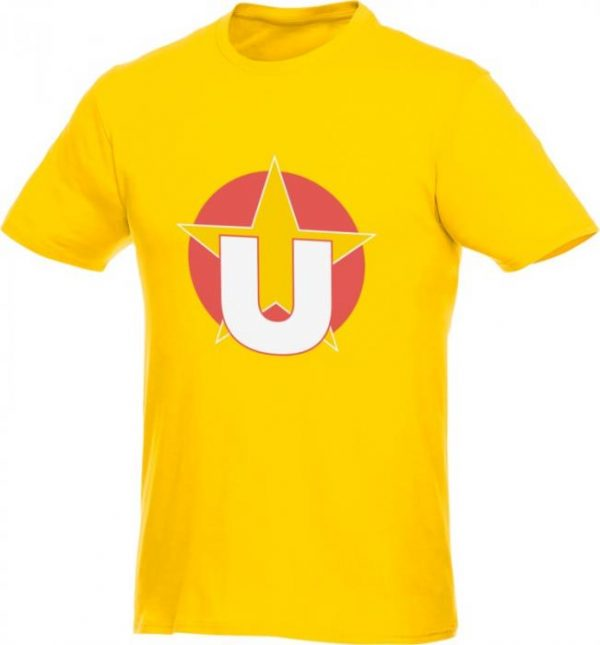 Heros T-shirt Yellow