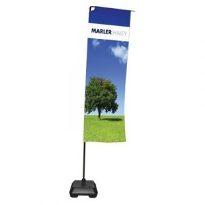 Branded Stand Up Flag