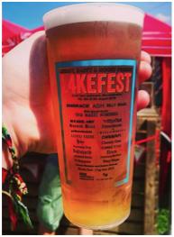 Lakefest Printed Cups